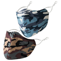 Single Camo Adult Face Mask