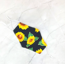 Sunflower Adult Face Mask