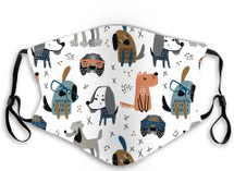 Kids' Dog Face Masks