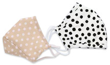 Kids' Polka Dot Face Masks
