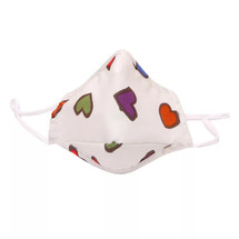 Kids' Colored Hearts Face Mask