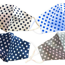 Polka Dot Adult Face Masks