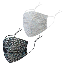 BeDazzled Chainmail Adult Face Mask