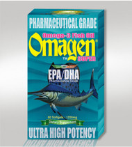 [OMAGEN] Omega-3 Fish Oil (60 Softgels)