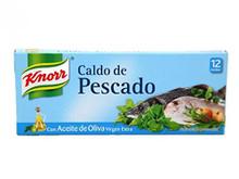 Knorr Caldo De Pescado con Aceite de Oliva Extra Virgen