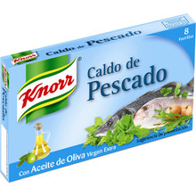 Knorr Fish Stock Cubes with Extra Virgin Olive Oil 8 Cubes