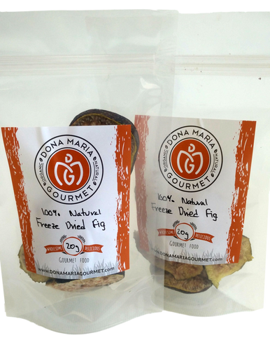 natural freeze dried figs