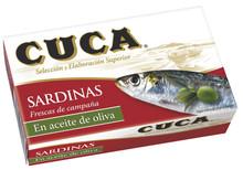 Cuca Sardines in Olive Oil 120 grams