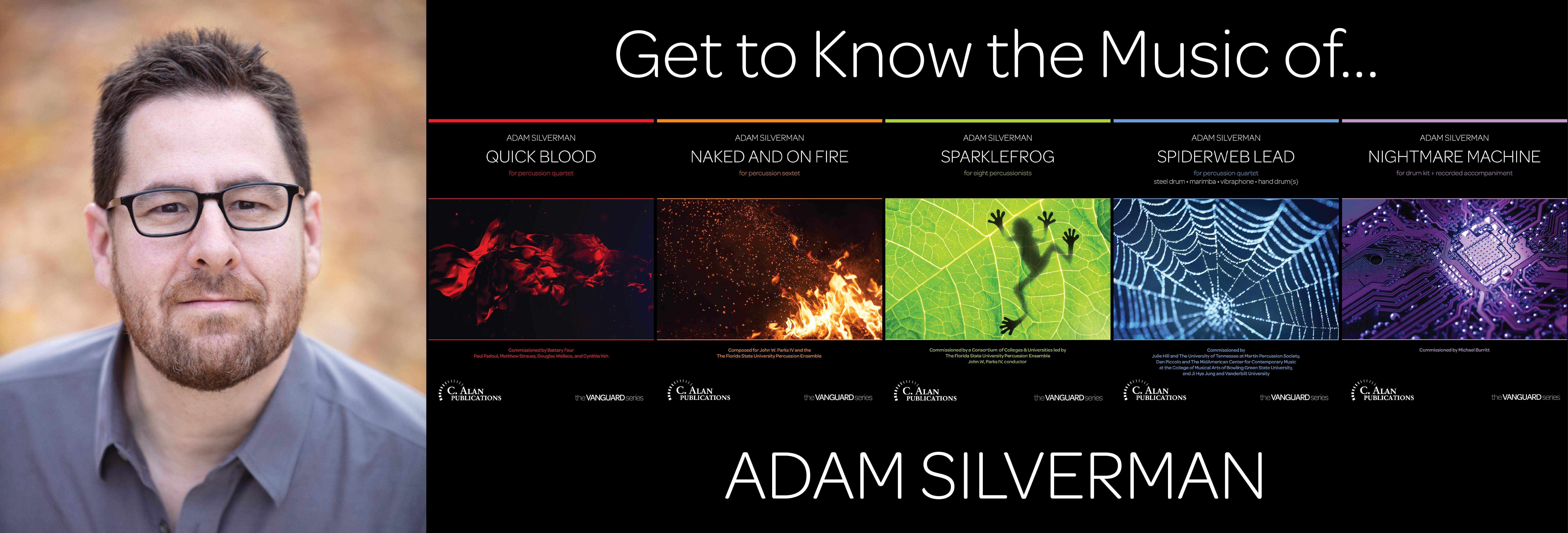 The Music of Adam Silverman