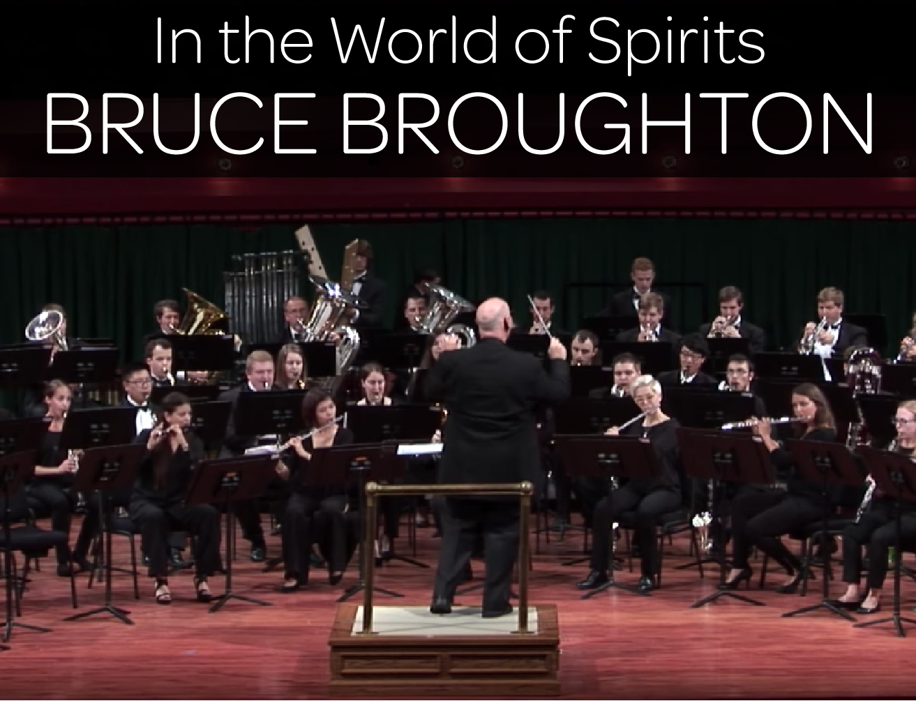 IN THE WORLD OF SPIRITS by Bruce Broughton