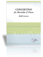 Concertino for Marimba & Piano (piano reduction)
