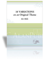 18 Variations on an Original Romantic Theme (Solo 4-Mallet Marimba)