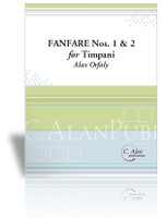 Fanfares No. 1 & No. 2 for Solo Timpani