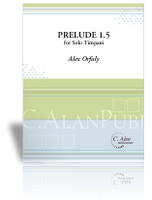 Prelude 1.5 for Solo Timpani
