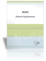 Rain, Op. 13 (Solo 4-Mallet Marimba)
