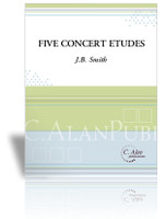 Five Concert Etudes (Solo 4-Mallet Marimba)