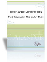 Headache Miniatures, The (Perc Ens 6)
