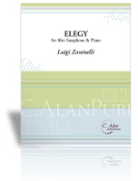 Elegy for Alto Saxophone & Piano