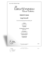 Trinity Mass (SATB score)