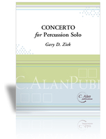 Concerto for Percussion Solo (piano reduction)