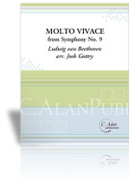 Molto Vivace from 'Symphony No. 9' (Beethoven)