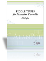 Fiddle Tunes for Percussion Ensemble (6 + bass)