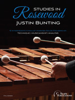 Studies in Rosewood: 10 Intermediate 4-Mallet Marimba Solos