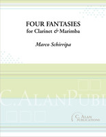 Four Fantasies for Clarinet & Marimba