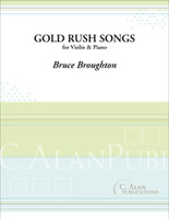 Gold Rush Songs (Violin & Piano)