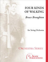 Four Kinds of Walking (String Orchestra)