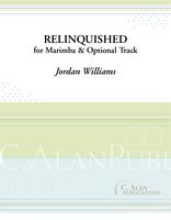 Relinquished (solo marimba + optional track)