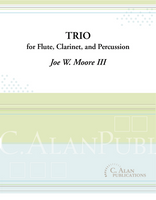 Trio for Flute, Clarinet, and Percussion