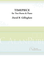 Timepiece (Trio for 2 Horns & Piano)