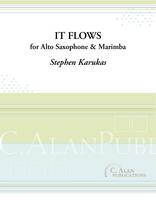 It Flows (Duet for Alto Saxophone & Marimba)