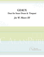 Geaux (Duet for Snare Drum & Timpani)