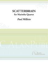 Scatterbrain (Marimba Quartet)