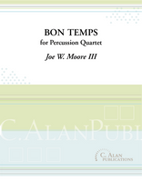 Bon Temps (Percussion Quartet)