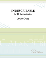 Indescribable (Perc Ens 10)