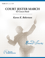 Court Jester March (Band Gr. 2.5)