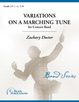 Variations on a Marching Tune (Band Gr. 3.5)