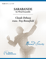 "Sarabande from ""Pour le Piano"" (Band Gr. 4.5)"
