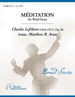 Méditation (Lefèbvre, Op. 68) (Wind Octet)