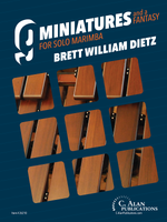 9 Miniatures & a Fantasy (Solo Marimba Collection)