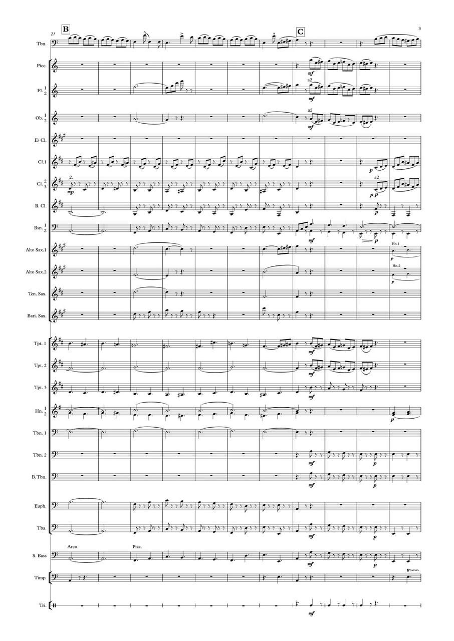 Tarantella Rossini Band Gr 3