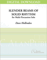 Slender Beams of Solid Rhythm - Dave Hollinden [DIGITAL]
