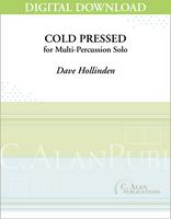 Cold Pressed - Dave Hollinden [DIGITAL]
