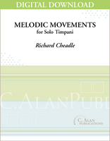 Melodic Movements for Timpani - Richard Cheadle [DIGITAL]