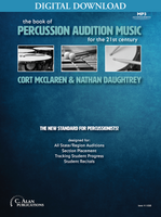 The Book of Percussion Audition Music [DIGITAL]