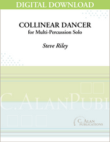 Collinear Dancer (Solo Multi-Percussion) [DIGITAL]