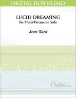 Lucid Dreaming (Solo Multi-Percussion) [DIGITAL]